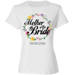 Ladies Relaxed Fit Cotton Basic Tee