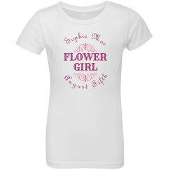 Scroll Flower Girl