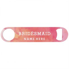 Custom Watercolor Bridesmaid Gift