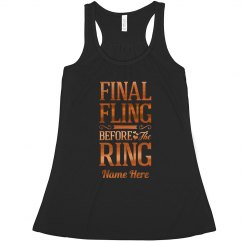 Metallic Custom Final Fling Tank