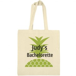 Pineapple Bachelorette Tote