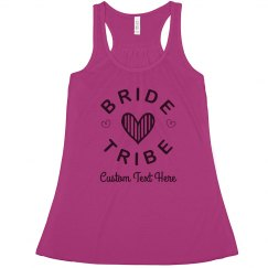 Custom Bride Tribe Hearts