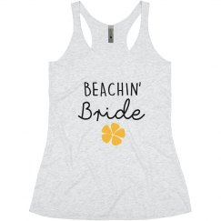 Beachin' Bride Bachelorette tank tops