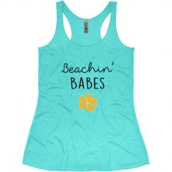 Beachin' Babes Bachelorette Tank Tops