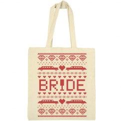 Ugly Christmas Bride Tote