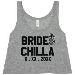 Cute Beachy Bride-Chilla