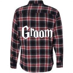 Groom Flannel Shirt