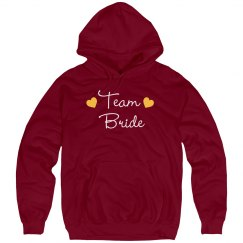 Team Bride Hoodies