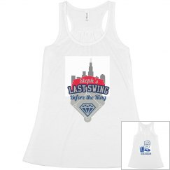 Chicago Bachelorette Baseball Tank
