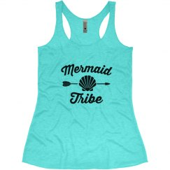 Mermaid Tribe Bachelorette Tank Tops