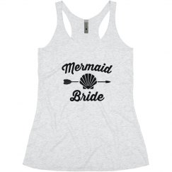 Mermaid Bride Bachelorette Tank Tops