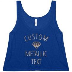 Custom Metallic Bride Tee