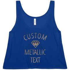 Custom Metallic Bride Tee