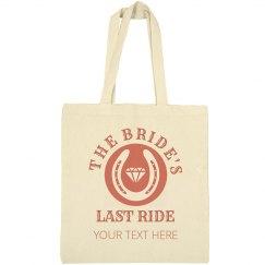 The Bride's Last Cowgirl Ride
