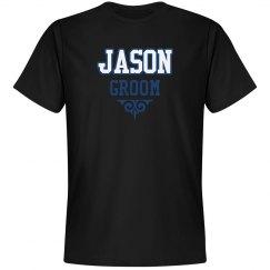 Custom Name Groom