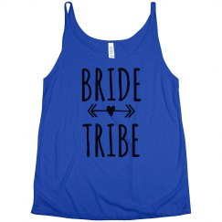 Bride Tribe Flowing Tank