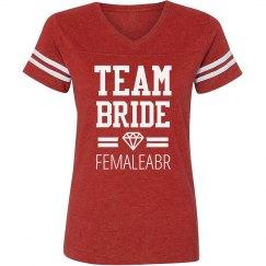 Team Bride Diamond Femaleabr