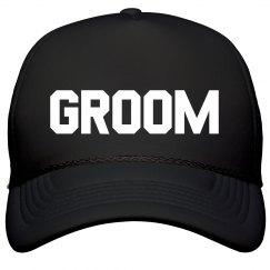Simple Trendy Groom Hat