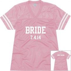 Football bride