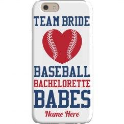 Bride's Baseball Bachelorette
