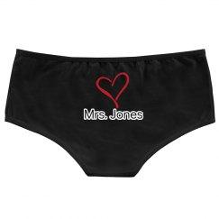 Mrs. lingerie