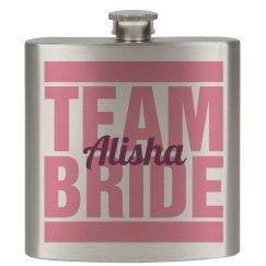 Team Bride Flask Girls