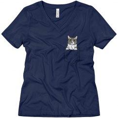 Sam - Cat in Pocket2