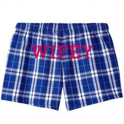 New Wifey Pajama Shorts