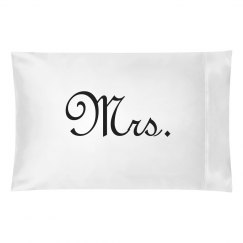 Mrs & Mr Matching Pillowcases