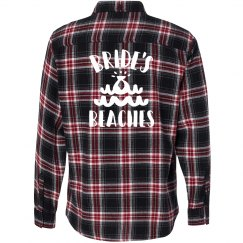Bride's Beaches Flannel Shirt