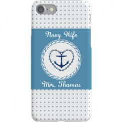 Navy Wife w/Anchor