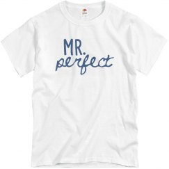 Mr. Perfect Men's Basic Tee