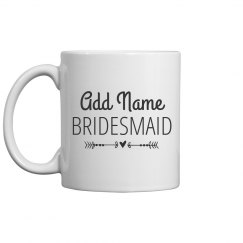 Custom Name Bridesmaid Gift