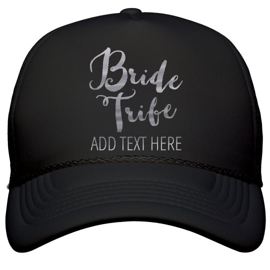 a2e2957b09c Shiny Silver Bride Tribe Film and Foil Solid Color Snapback Trucker Hat