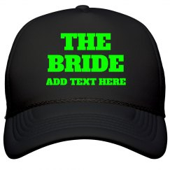 Custom Name Neon Bride