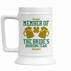Irish Bride Drinking Team Gift