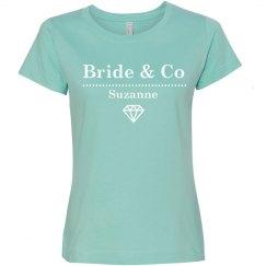 Bride & Co Diamond Tee