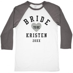 Bride To Be Heart