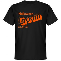 Halloween Groom 2017 Unisex Tee