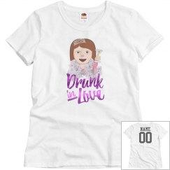 Drunk In Love Metallic And Emoji