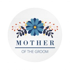 Mother Of The Groom Badge
