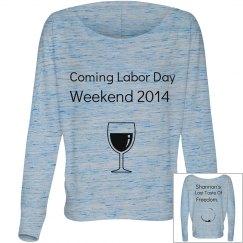 Shannon's shirt