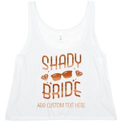 Custom Bride's Shady Beach Bachelorette