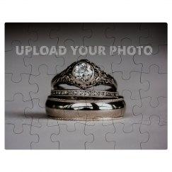 Custom Wedding Ring Photo Gift