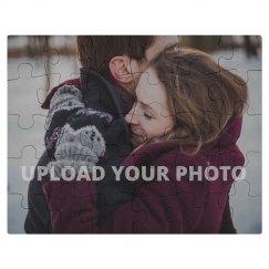 Custom Engagement Photo Gift