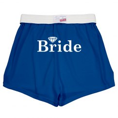 Bride Diamond Shorts