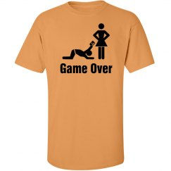 Game Over Bachelor Tshirt
