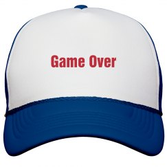 Game Over Bachelor Party Hat