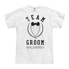 Team Groom Tuxedo Maleabrev