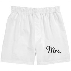 Mrs. Unisex boxers